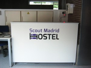 Recepcion Scouts Madrid Hostel