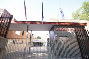 Fachada Scout Madrid Hostel