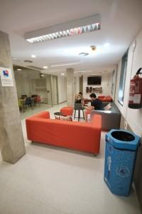 Salón común Scout Madrid Hostel - 3