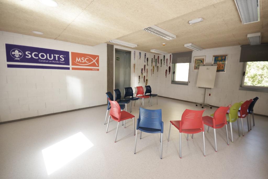 Sala de Reuniones Scout Madrid Hostel - 1
