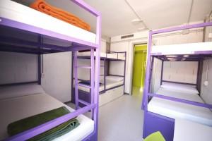 Habitacion de 6 Scout Madrid Hostel-3