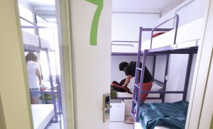 Habitacion de 6 Scout Madrid Hostel-2