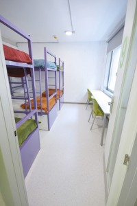 Dormitorio de 6 Scout Madrid Hostel