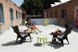 Terraza superior Scout Madrid Hostel-3