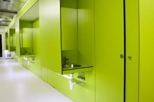Detalle baños Lavabo Scout Madrid Hostel - 2