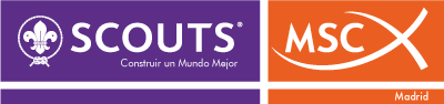 Logotipo de Scouts de Madrid - MSC
