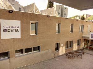Fachada Hostel Scout Madrid