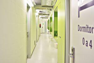 Planta baja habitaciones Scout Madrid Hostel